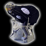 Jonathan Quick LA Kings  eyecandyair airbrushed goalie mask 2009